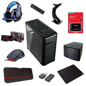 Computador Pc Gamer Barato Ssd 128gb, 8gb Ram E 2,5 Tb Hd