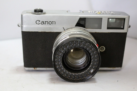 Câmera Fotografica Canon Canonet Colecionadores Retirada Pç