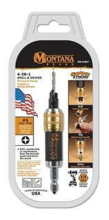 Fresador, Avellanador #8 Y Atornillador Montana Made In Usa