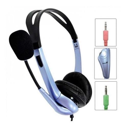 Auricular Gamer Pc Ps4 Skype Zoom Microfono Genius Hs-04s