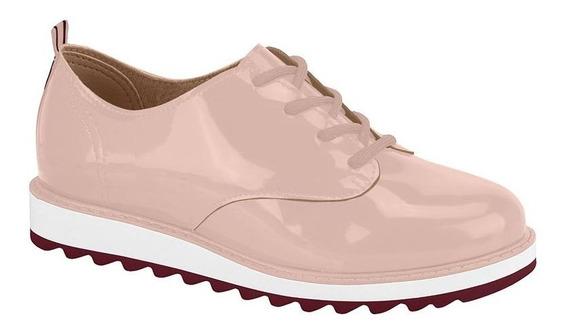 Sapato Molekinha Verniz Rose