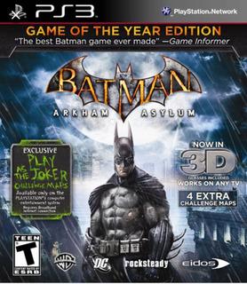 Juego De Ps3 Casi Nuevo Batman Arkham Asylum