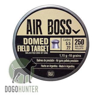 Balines Air Boss Domed Field Target 5.5 X 250 18 Grains