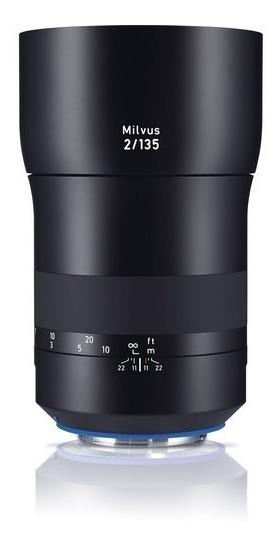 Zeiss Milvus 135mm F/2 Lente Para Canon Ef E Nikon F