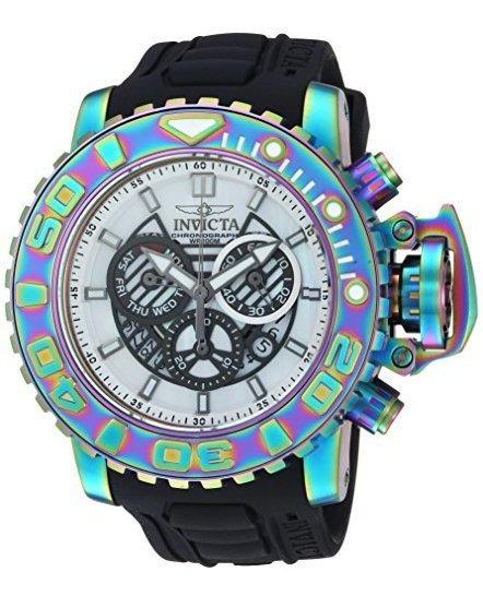 Invicta 26415 Reloj De Cuarzo De Acero Inoxidable Y Silicona