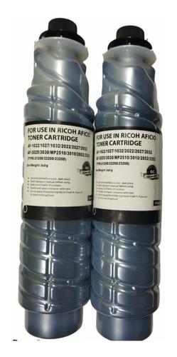 Imagen 1 de 1 de Kit 2 Toner Para Ricoh Mp  2352/2550/2553/2851/2852/3352