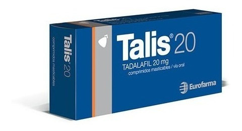 Talis Masticable 20 Mg 20 Comp