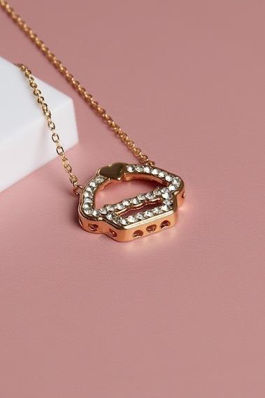 Colar Amuleto Dos Sonhos Gold Cuplover Novo Sem Uso