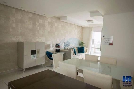 Apartamento Com 3 Dormitórios À Venda, 87 M² Por R$ 670.000 - Caiobá - Matinhos/pr - Ap0086