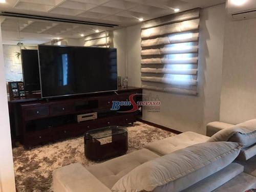 Apartamento Com 3 Dormitórios À Venda, 168 M² Por R$ 1.300.000,00 - Jardim Anália Franco - São Paulo/sp - Ap2591