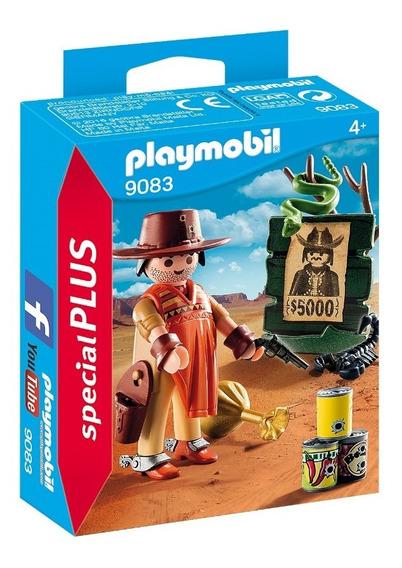 Playmobil 9083 Cowboy Procurado Special Plus Geobra