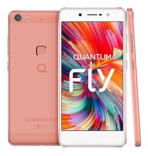 Quantum Fly E Q7 Rosa Dual 32gb Biometria Garantia+ Nf