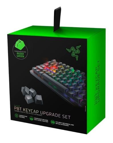 Razer Pbt Keycap Upgrade Set Green - Para Teclados Mecânicos