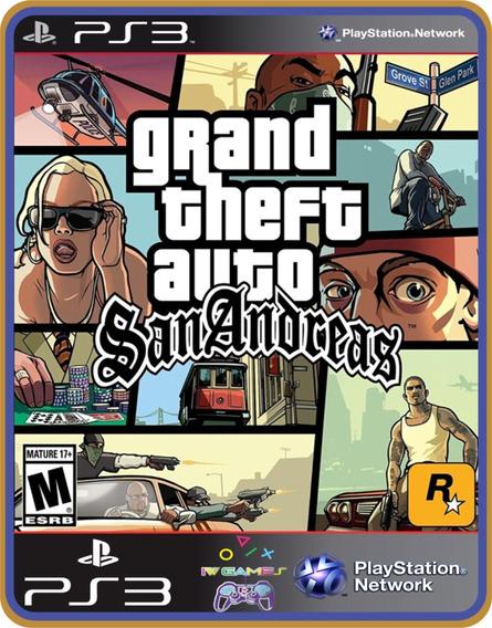 Grand Theft Auto San Andreas Gta Ps3 Psn Digital-
