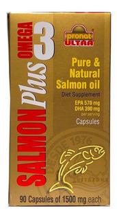 Omega 3 Plus De Salmón 90 Cápsulas Pronat