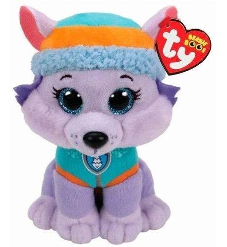 Pelúcia Beanie Boos Ty Patrulha Canina Everest Dtc 4511 25cm