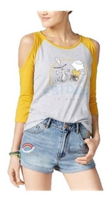 Playera Original Snoopy Y Charlie Brown Mujer Peanuts