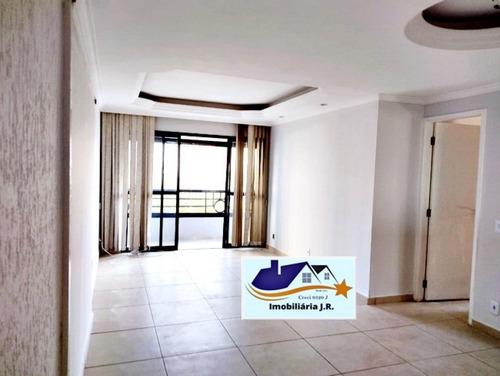 Imagem 1 de 30 de Apartamento 3 Dorms Para Locação Anual - Vila Vermelha, São Paulo - 97m², 2 Vagas - 2371-loc