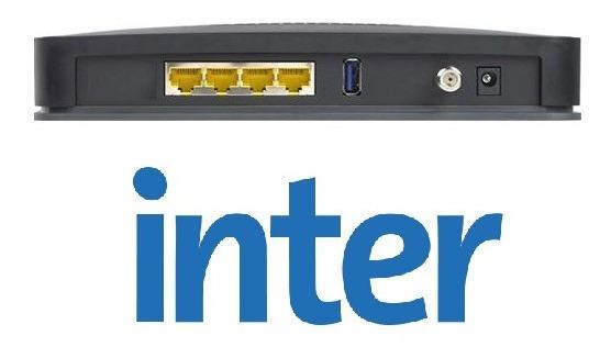 Modem Router Inter Cable Modem Netuno Wifi 20mb Somos Tienda