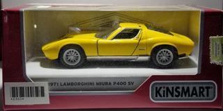 Auto De Coleccion 1971 Lamboghini Miura P400 Sv Escala 1:36