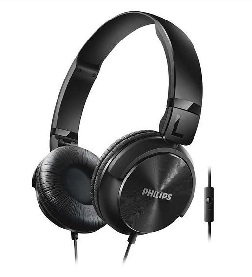 Fone Ouvido Philips Shl3065 Stéreo Dobrável Alta Qualidade