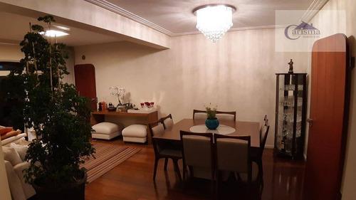 Apartamento Com 4 Dormitórios, Sendo 1 Suíte, À Venda, 140 M² Por R$ 700.000 - Centro - Santo André/sp - Ap3586