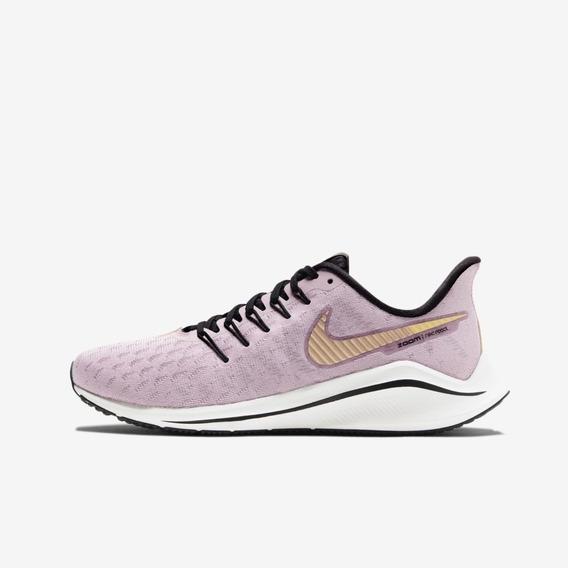 Tenis Feminino Nike Air Zoom Vomero 14 Lilas Original