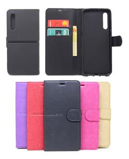 Capa Capinha Carteira Xiaomi Mi9 Mi 9 Flip Case Cores Lisas