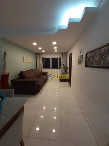 Apartamento Com 3 Dormitórios À Venda, 110 M² Por R$ 390.000,00 - Nova Petrópolis - São Bernardo Do Campo/sp - Ap1561