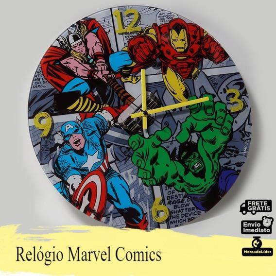 Relógio Marvel Comics