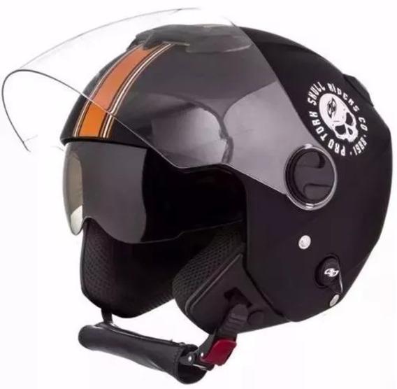 Capacete Custom New Atomic Skull Riders Pro Tork