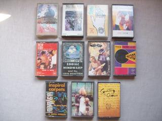 Lote De 11 Cassettes De Música Rock & Pop De Los Años 90
