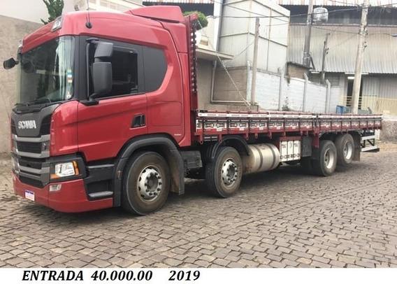 Scania P320 8x2 2019/20 Entrada 35.000.00 + Parcelas