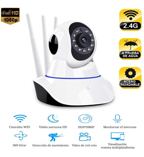 Camara Seguridad Ip Wifi Nightvision Hd720p Cel Pc 3 Ants