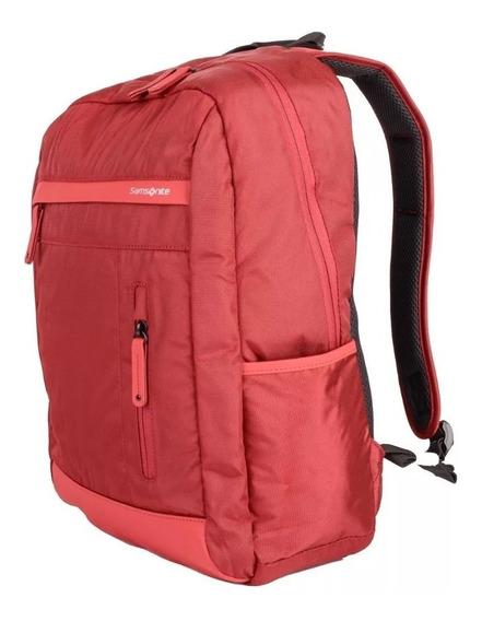 Mochila Samsonite City Pro Notebook 15,6 Red Pink Unisex
