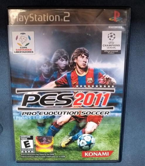 Pes 2011 Pro Evolution Soccer - Ps2 Playstation Original