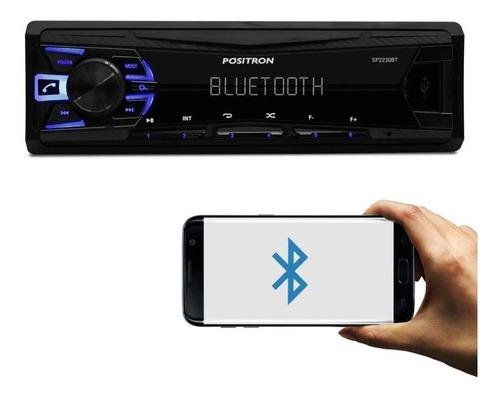 Rádio Som Positron 2230bt Usb Android Bluetooth Lançamento