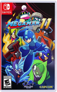 Mega Man 11 Nintendo Switch Nuevo Fisico Sellado