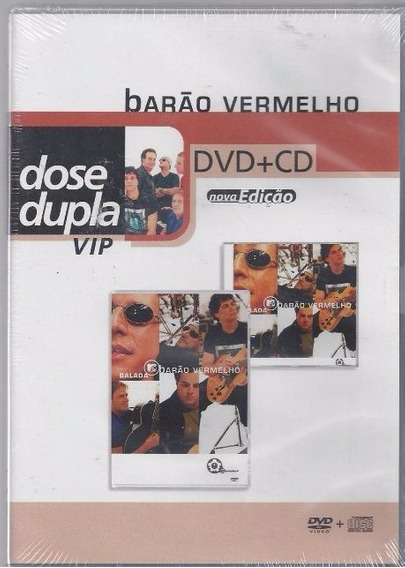 Barão Vermelho Dose Dupla Dvd + Cd Original Novo Lacrado