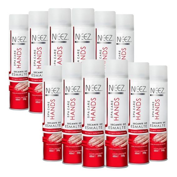 Kit 12 Spray Secante Para Esmalta Profissional Atacado Neez