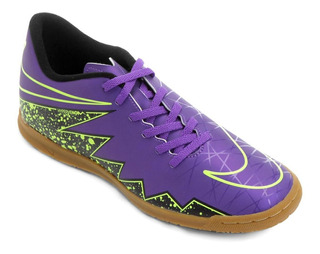 Chuteira Futsal Nike Hypervenom Phade 2 Ic Roxo - Original