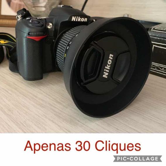 Câmera Profissional Nikon D7000 - Zerada C/ 30 Cliques