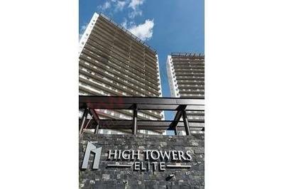 Departamento En Renta En High Towers Elite Vista A La Ciudad De Puebla.