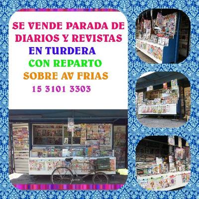 ** Parada De Diariosy Revistas **en Turdera **con Reparto**