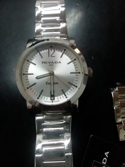 Reloj Nivada Executive Original Prácticamente Nuevo