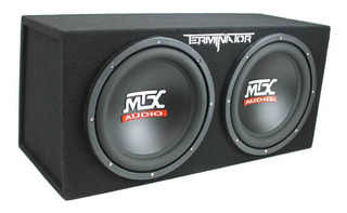 Mtx Tne212d 12-inch 1200-watt Car Audio Dual