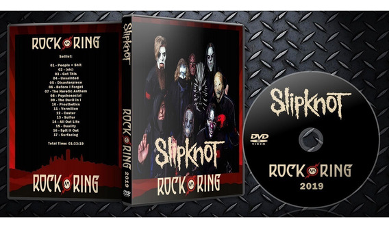 Dvd Slipknot - Rock Am Ring 2019