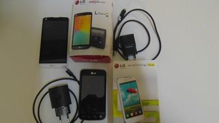 Combo De 2 Smartphones Lg. 1 L Prime Dual Tv E 1 Optimus L5