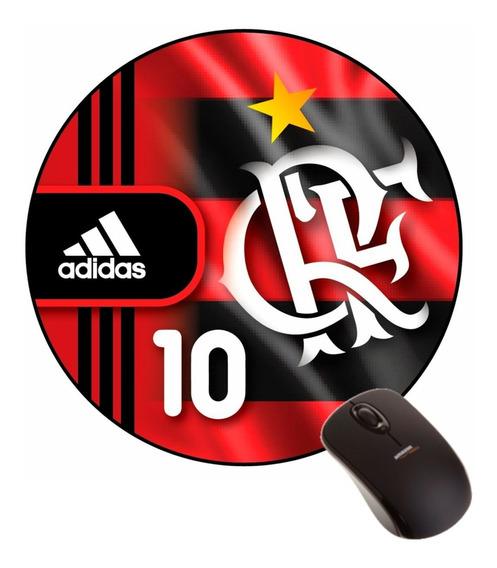 Mousepad Flamengo Escudo Distintivo Uniforme Camisa 10