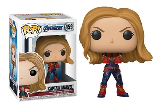 Muñeco Funko Pop 459 Capitana Marvel Avengers End Game